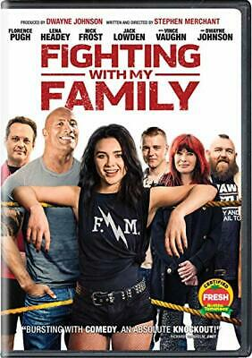 """""""Fighting With My Family"""" 2019 Dvd Factory Sealed"""
