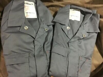 (Pack of 2 ) Motoman Work Overalls Grey RRP $70 Aussie Made Poly Cotton Size 77r