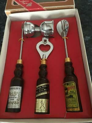 Vintage /Retro/Johnnie Walker  Bar Set Great For The Bar -  Collectable - In Box