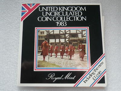 Great Britain Royal Mint 1983  Uncirculated Set