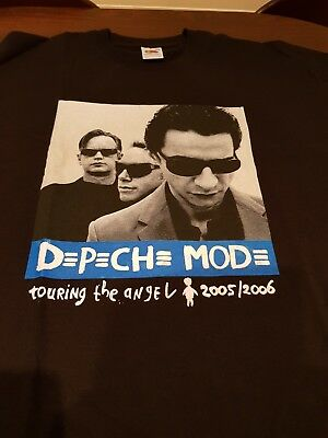 Depeche Mode Concert T Shirt Medium Touring the Angel 2005/2006 *UNWORN*
