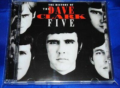 DAVE CLARK FIVE - The History Of The Dave Clark Five - 2CD