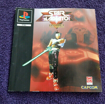 Star Gladiator Episode 1 Final Crusade Ps1- Instructions Only - No Game