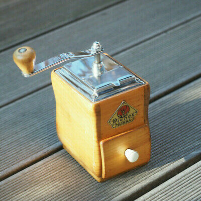 DIENES 558 Coffee Grinder Cherry Wood - Very RARE Kaffeemühle