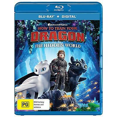 How To Train Your Dragon - The Hidden World (Blu-ray, 2019)