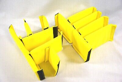 Yellow extra Padded divider sectionals fits Pelican ™ 1510 1535 Air  im2500 case