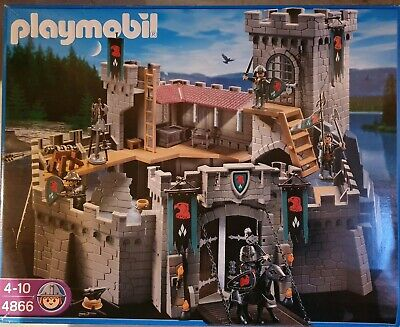 Castello Playmobil dei Cavalieri 4866 + personaggi ed accessori