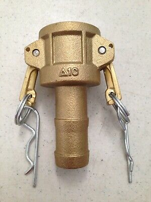 "APG 3E10CCB Tough-Tite 1"" Industrial Cam Part C Brass"