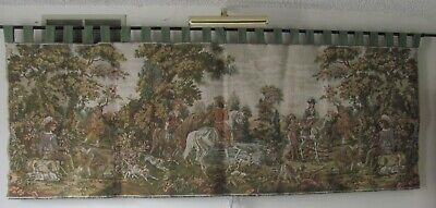 Large 19th Century Antique French Tapestry 1890's Width 75 inch
