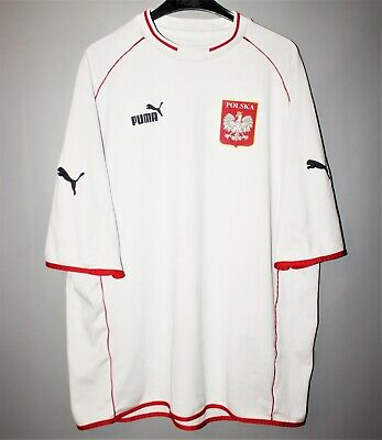 designer fashion 06178 e3eb8 POLAND NATIONAL TEAM Footbal Shirt Jersey Puma 2000 2001 2002 Home