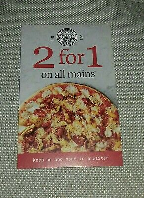 Pizza Express 2 For 1 Voucher  on all Mains 3rd-30th June 2019