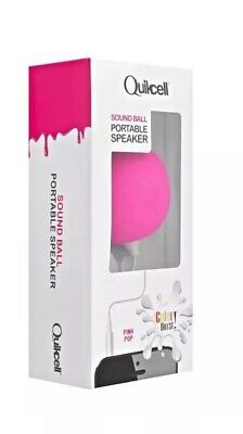 Portable Audio & Headphones New Quikcell Sound Ball Portable Speaker For Apple/android Devices Phones Music