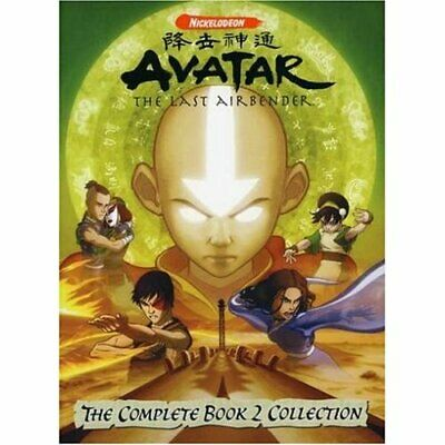 Avatar, The Last Airbender: The Complete Book 2 Collection (DVD,2007)