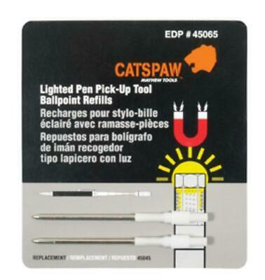 Mayhew 45065 Cats Paw Lighted Pen Pick-up Tool Ballpoint Refills