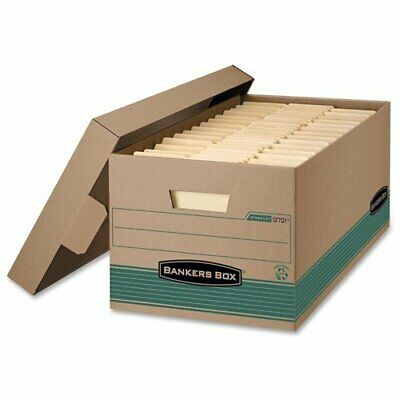 Bankers Box Recycled Stor/file - Letter - Taa Compliant - Stackable - Medium