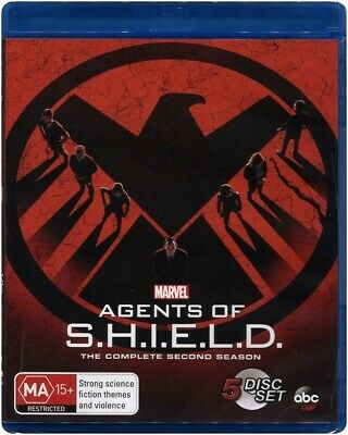 """Marvel's AGENTS Of S.H.I.E.L.D: Season 2"" Blu-ray - Region Free [B][A][C] NEW"