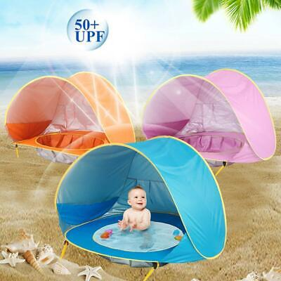 Baby Kids Beach Tent Portable Shade Pool UV Sun Protection Shelter for Infant