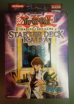 Yu-Gi-Oh 1st Edition KAIBA EVOLUTION Starter Deck Box Factory Sealed! Ultra Rare