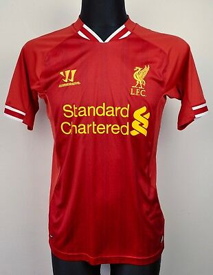 LIVERPOOL FC Home Shirt 2013/2014 Mens Small Adult Jersey Football England S
