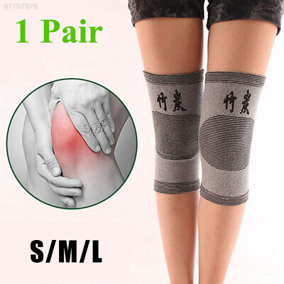 ADB8 Kneepad Bamboo Charcoal Breathable Knee Brace Support Protector Comfortable