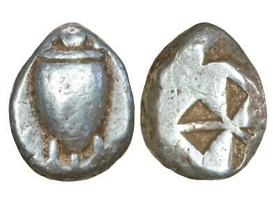 An Attractive Early Aegina Sea Turtle Stater: Circa 500 BC.