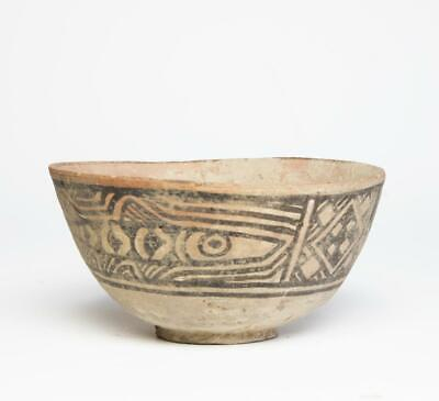Indus Valley Nal Culture dish with fish: 3rd millennium BC.