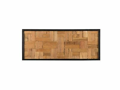 Modern Recycled Wood Wall Décor Framed Wall Art Rustic Toluca