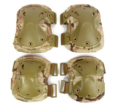 1Set CS Military Tactical Knee Pads Outdoor Sport Elbow Pads Protective Gear