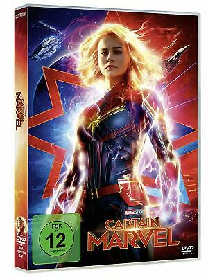 Captain Marvel [DVD] *NEU* DEUTSCH mit Brie Larson, Jude Law, Samuel L. Jackson