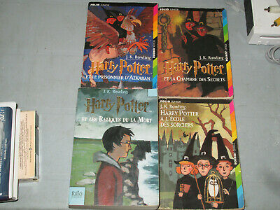 Lot Of 8 Harry Potter Books In French Free Shipping