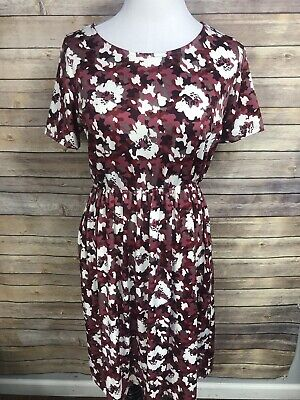 3eda22a512c76 Nwt Piphany Honey & Lace Shades Of Red/pink Camo Print Windsor Dress L