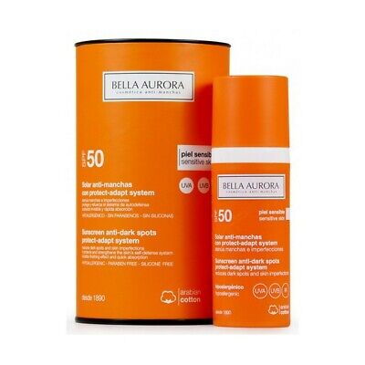 S0563724 50636 Fluide Solaire Anti-Tâches Protect-adapt System Bella Aurora SPF