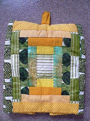 Large Handmade 50s Fabric Patchwork Tea Cosy by Anna Wilson