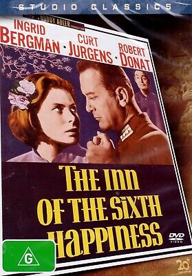 The Inn Of The Sixth Happiness (1958) DVD-Ingrid Bergman-Curt Jurgens