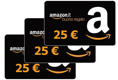 Buono AMAZON da 25 EURO - gift card voucher