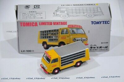 TOMICA LIMITED VINTAGE LV-100a 1/64 Nissan Caball Coca Cola Truck