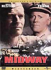 Midway Collector's Edition Charlton Heston Jack Smight PG DVD Military & War NEW