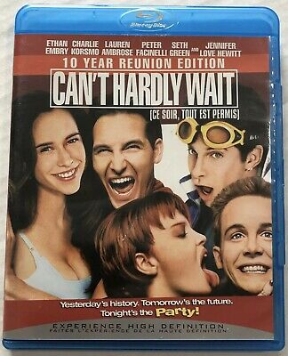 Cant Hardly Wait (Bluray, 2008, 10th Anniversary Edition, OOP) Canadian