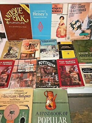 Vintage Lot Of Antique Collecting/Collector/Jewelry Books & Guides