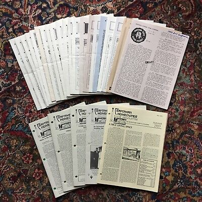 22 issues of Craftsman Farms NOTES FROM THE FARM & 5 issues CRAFTSMAN HOMEOWNER
