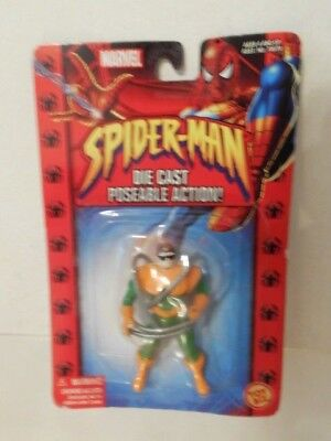 Superhelden Marvel Spider-Man Die Cast Figur Toy Biz 2002 Blister: Doc Octopus