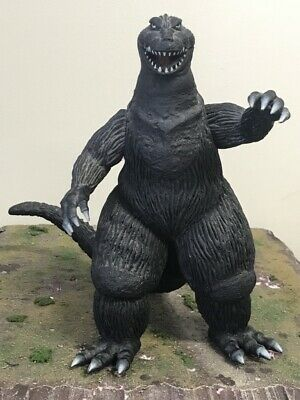 "Bandai TOHO Kaiju Godzilla King Of Monsters 1962 9"" Vinyl Sofubi Figure 1983"