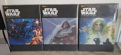 Lot 3 Comics VF intégrale Stars Wars _ Edition deluxe Gd Format_ Jaquette-Poster