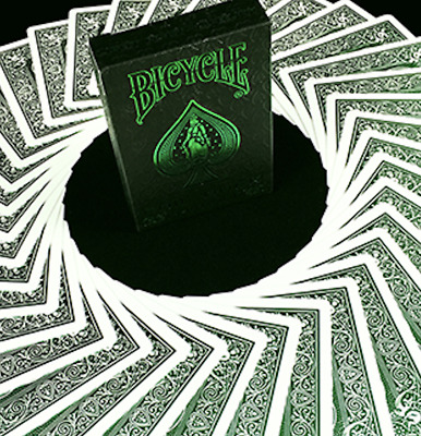 Bicycle MetalLuxe Emerald Playing Cards Limited Edition by JOKARTE - LIMITED