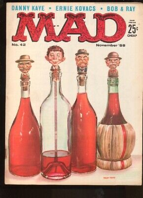 Mad (1952 series) #42 in Fine + condition. E.C. comics [*3n]