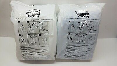 2 × Rubbermaid Commercial Products Disposable Microfiber Cloth Hygen 1822350