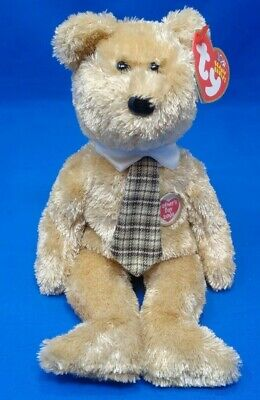 MWMT Fathers Day Bear Exclusive Ty Beanie Baby Dad-e 2003