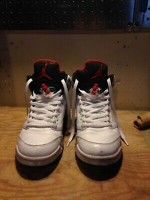 new arrival dea06 d4e2a air jordan retro 5 White Cement Size 10