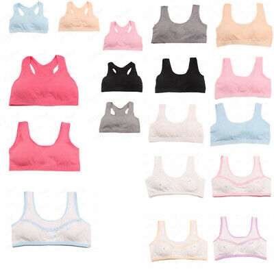 Chirldren Kids Girls Underwear Bra Vest Children Underclothes Sport Undies