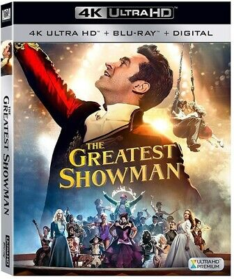 The Greatest Showman (DVD,2017)